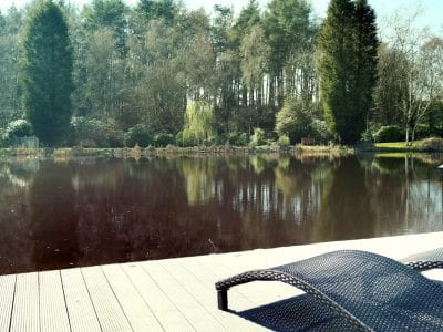 Lakeside Relaxation Area Staffordshire